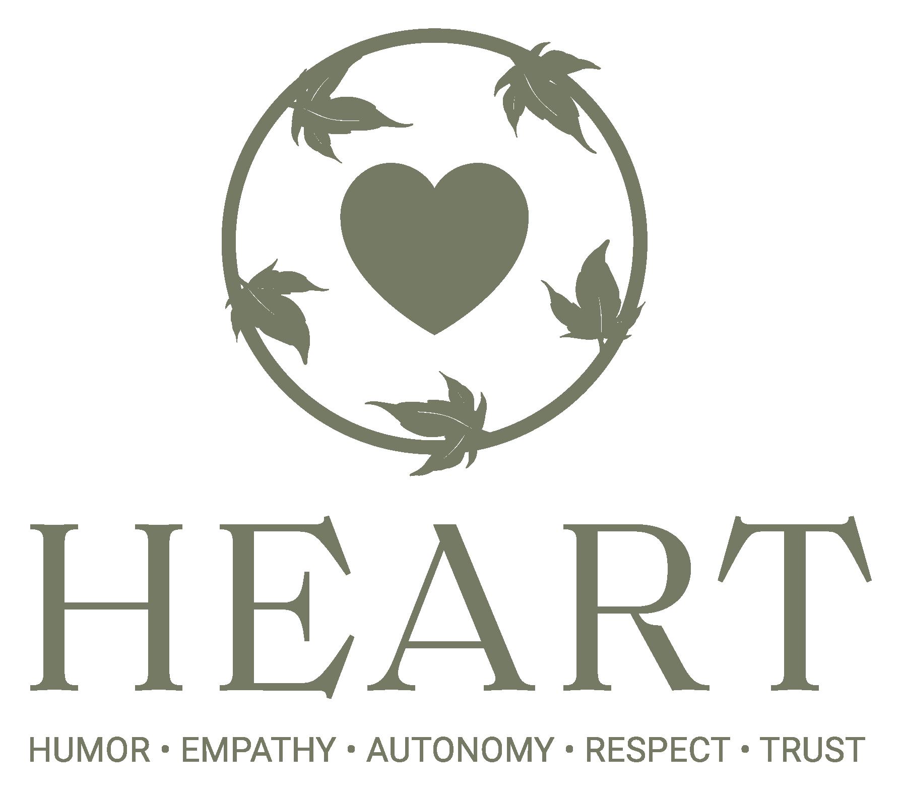 HEART - Humor, Empathy, Autonomy, Respect, Trust